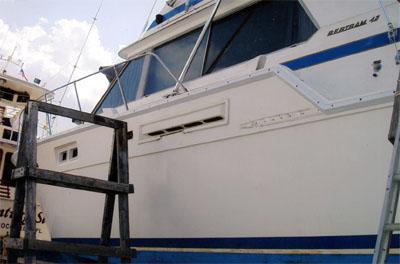 Bertram Rub Rails - Rubrails for Bertram Yachts - High Tide Marine